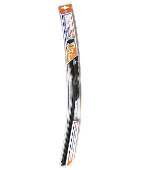ROLMOVIL Limpiaparabrisas delantero flexible de 600 milímetros de longitud, con 6 adaptadores de ajuste 1 unidad