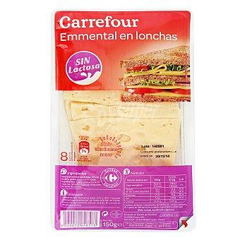Carrefour Queso emmental loncheado 150 g