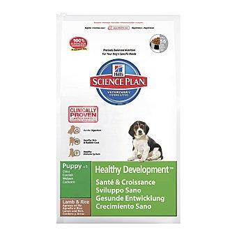 HILL'S SCIENCE PLAN Pienso para perros cachorros -1año medianos Hills Science Plan cordero y arroz 12 kg 12 kg