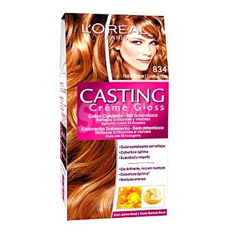 Casting Crème Gloss L'Oréal Paris Tinte Créme Gloss nº 834 Rubio ámbar 1 ud