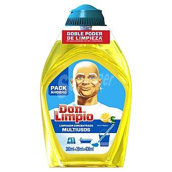 Don Limpio Limpiador en gel concentrado Limón Fresco ml Botella 380 ml + 20