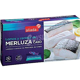 Aliada Lomos y centros de merluza del Cabo 4-5 piezas Estuche 400 g neto escurrido