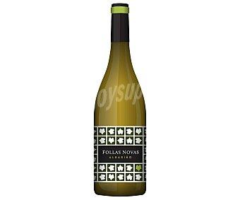 Follas Novas Vino blanco albariño con denominación de origen Rias Baixas botella de 75 cl