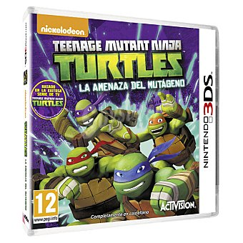 NINTENDO Teenage Mutant Ninja Turtles: La Amenaza Del Mutágeno para 3DS