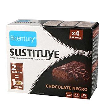 Bicentury Barritas de chocolate con galleta y trufa 210 g
