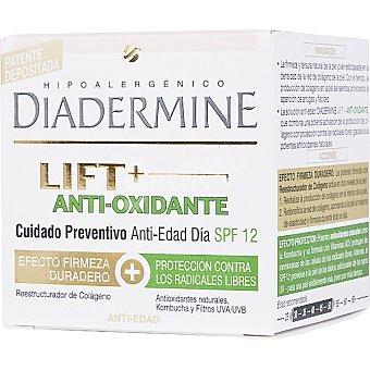 Diadermine Crema nutritiva Lift+ anti-oxidante cuidado preventivo anti-edad día FP-12 Tarro 50 ml