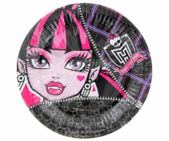Monster High Platos 23cm 10 Unidades