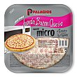 Mini Pizza Jamón, Bacón y Queso 225 gramos Palacios