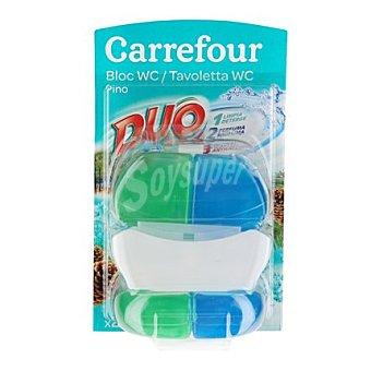 Carrefour Colgador para WC bi-cámara pino Aparato + recambio