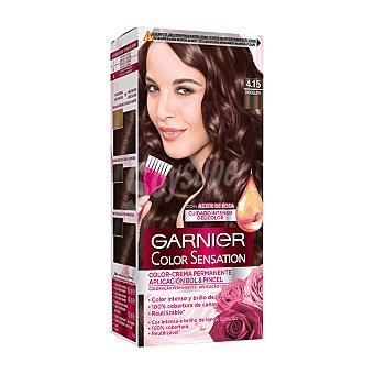 Color Sensation Garnier Tinte Chocolate Nº 4.15 Caja 1 ud