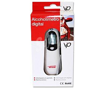 VIP Alcoholímetro digital con información en pantalla 1 unidad