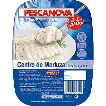 Pescanova Centros merluza en salsa verde 220 g