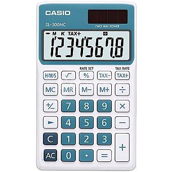 CASIO SL-300NC-BU Calculadora básica de bolsillo