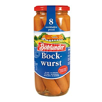 Boklunder Salchichas Bockwurst 8 Unidades
