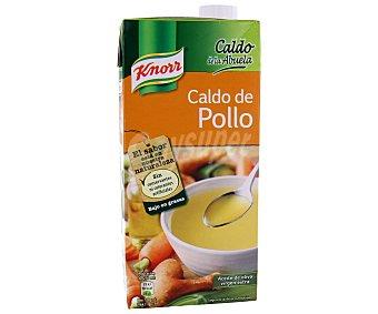 Knorr Caldo de pollo con verduras El caldo de la abuela Envase 1 l