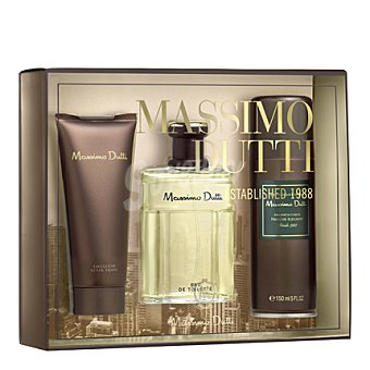 Massimo Dutti Estuche colonia spray 100 ml. + after shave 100 ml. + desodorante 150 ml. 1 ud