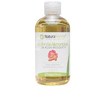 NATURAFemme Aceite hidratante con aceite de almendras y rosa mosqueta 250 ml