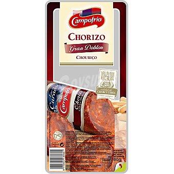 Campofrío Chorizo Gran Doblón en lonchas Envase 60 g