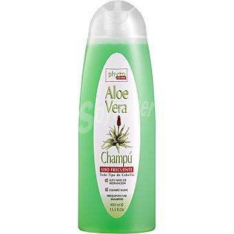 Luxana Phyto Nature Champú Aloe Vera para todo tipo de cabello uso frecuente Botella 400 ml