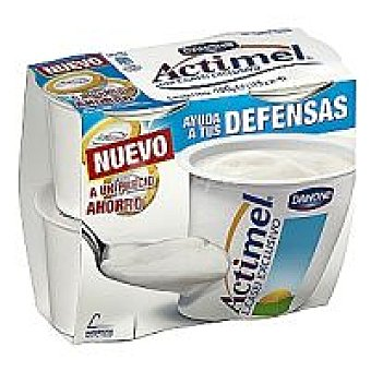 Actimel Danone Actimel natural cuchara Pack 4x115 g