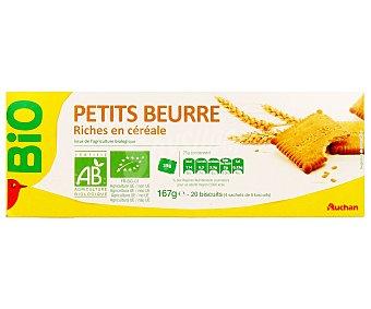 Auchan Galletas de mantequilla ecológicas 167 gramos