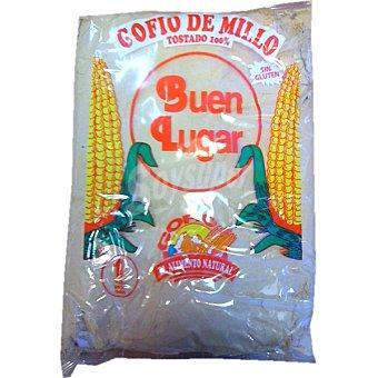 BUEN LUGAR Gofio de millo tostado 100% sin gluten Envase 1 kg