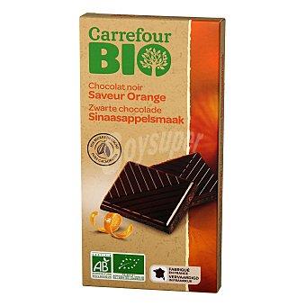 Carrefour Bio Chocolate negro con naranja ecológico 100 G 100 g