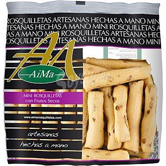 Aima Mini rosquilletas con frutos secos Bolsa 150 g