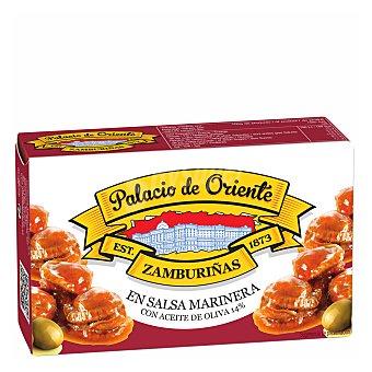 Zamburiñas en salsa marinera con aceite de oliva 60 g