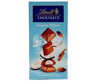 Lindt Chocolate con leche relleno de coco 100 g