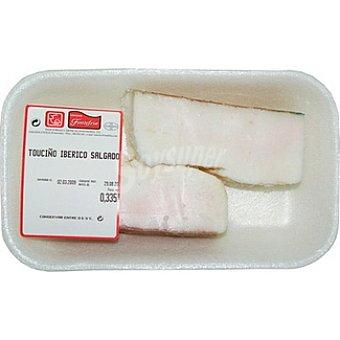 FONTEFRIA Tocino de cerdo ibérico salado peso aproximado Bandeja 450 g