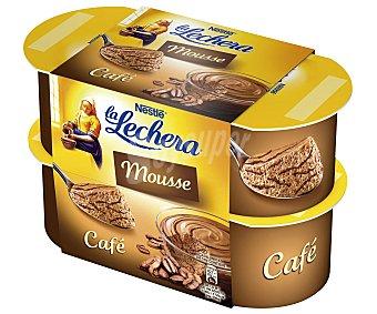 La Lechera Nestlé Mousse de café Pack 4x60 g