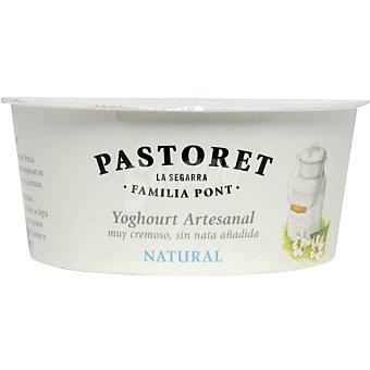 El pastoret Crema de yogur natural Envase 125 g