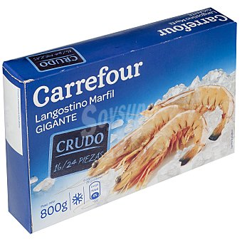 Carrefour Langostino marfil 16/24 800 g