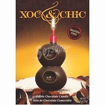Xoc & Chic Vela de chocolate Nº 8 1 unid