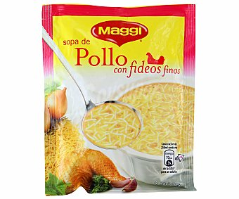 Maggi Sopa de Pollo con Fideos Sobre 82 Gramos