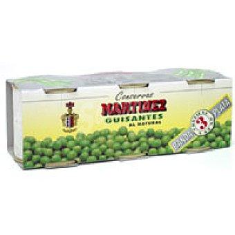 Martinez Guisante Pack 3x60 g