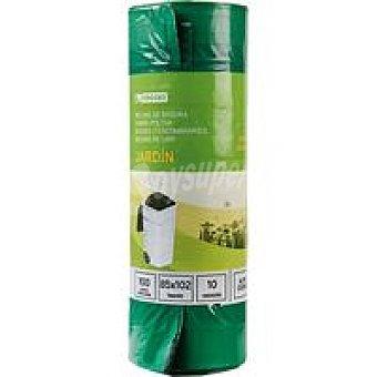 Eroski Bolsas de basura biodegradable Paquete 10 unid.