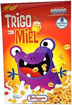 BRÜGGEN Cereal trigo con miel CAJA 500 g
