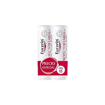 Eucerin Protector labial para piel sensible 2 unidades