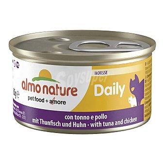 ALMO NATURE Daily Comida húmeda para gatos adultos Almo Nature Daily mousse atún y pollo 85 gr 85 gr