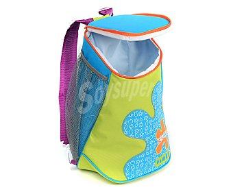 CUP´S Bolso nevera tipo mochila con capacidad de 8 litros, asa, tiras para espalda y cierre de cremallera 1 unidad