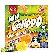 Mini mix polos de naranja o limón Caja 6 u x 80 ml Calippo Frigo