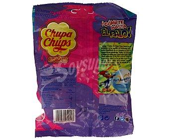 Chupa Chups Caramelos de goma con forma de caramelo con palo y con sabor a zumo de frutas 175 gramos