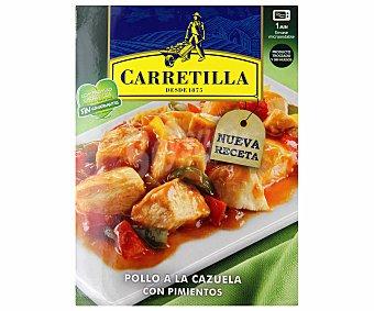 Carretilla Pollo a la cazuela con pimientos 250 g