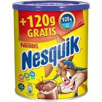 Nesquik Nestlé Cacao soluble Bote 800 + 15% g