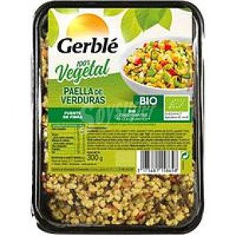 Gerblé Paella de verduras BIO Bandeja 300 g