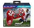 Mando con cable Pro compatible con PS4/PS3/PC de color rojo, subsonic.  Subsonic