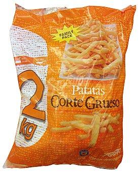 Agristo Patatas congeladas corte grueso clásicas Paquete 2Kg