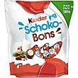 Kinder -bons huevos de chocolate rellenos de leche y avellanas 500 g Schoko